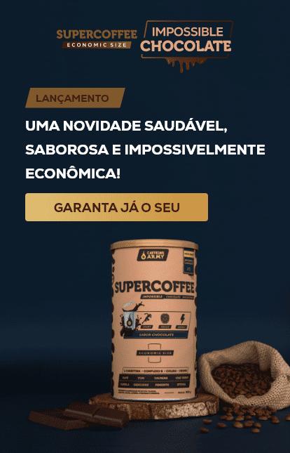 SuperCoffee Impossible Chocolate Economic Size: uma novidade saudável, saborosa e impossivelmente econômica!