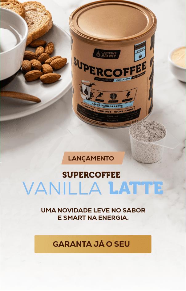 Experimente o Novo Sabor do SuperCoffee: Vanilla Latte